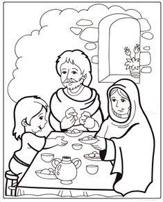 infanzia di gesù disegno da colorare