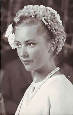 Young Queen Paola of Belgium
