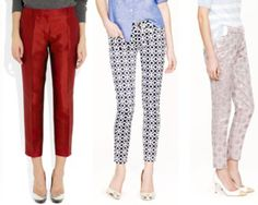 Get a cute summer transitional wardrobe--by starting at the ankle! #maxi #croppedpants #ankle