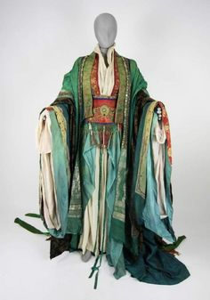 """The Last Emperor"" costumes by James Acheson"