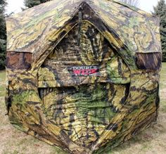Primos Double Bull Blind Review. Primos is known throughout the hunting community for making high quality hunting equipment including calls, decoys, game cameras, apparel, and ground blinds.