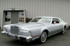 1973 Lincoln Continental Mark IV Silver Edition