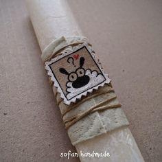 Napkin Rings, Easter, Candles, Wallet, Handmade, Crafts, Decor, Hand Made, Manualidades