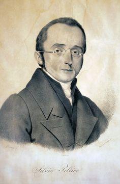 Silvio Pellico. Litografia Ajello. © Museo Nazionale del Risorgimento Italiano di Torino.