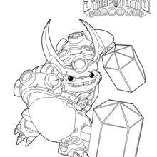 Skylanders Trap Team Villain Coloring Pages
