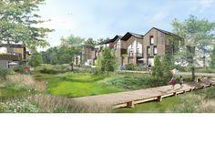 Le concept architectural   Ecoquartier Le Pyla