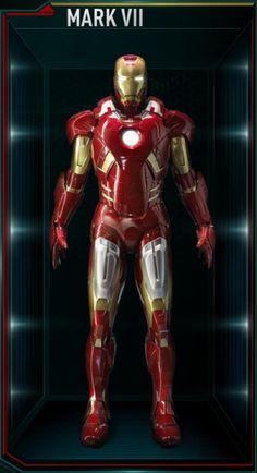 3D DIY Action Figure Iron Man Mark VII Part 1 Part 3 Scale 1:6 USD