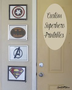 Printables are one of my Favorite things to do and I am so excited to show you guys how you can customize your printables.  I know you guys don't see a lot of crafts for boys.  That's because I have all girls.  But I had such fun making these superhero printables and customizing them. I …