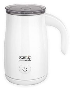 Caffitaly Stainless Steel Non-Stick Milk Frother - White Small Appliances, Kitchen Appliances, Kettle, Espresso, Milk Frothers, Cool Things To Buy, Stainless Steel, Tea, Coffee