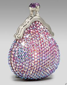 THINGS in PINK: Judith Lieber Beaded Coin Purse