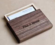 Business Card Holder or Wallet from Scrap