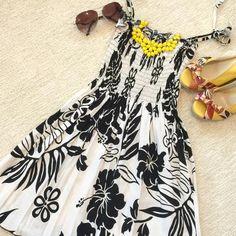 Winnie Fashion Dresses & Skirts - Hawaiian Floral Dress on Poshmark