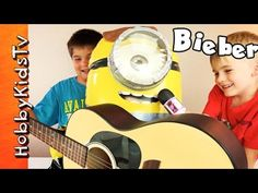 Justin Bieber MINION Makeover! Play-Doh + Singing with HobbyKidsTV - http://www.princeoftoys.visiblehorizon.org/hobbykidstv/justin-bieber-minion-makeover-play-doh-singing-with-hobbykidstv/