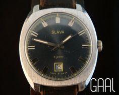 Vintage Molnija pocketwatch soviet pocket watch by GAALcollection
