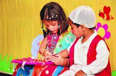 Raksha bhandhan  will celebrate in school