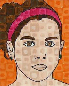 Check out student artwork posted to Artsonia from the Chuck Close Styled Self Portrait  -5 project gallery at Whitney Elementary School.