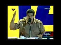 Maduro se le sale que recibe ordenes de los castro!