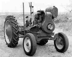 homemade tractor   Well one day while searching Craigslist ...