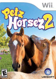 Petz Horsez 2 Nintendo WII Game