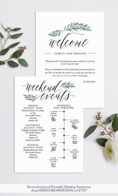 wedding itinerary template printable wedding welcome letter welcome bag note for wedding in 2018 printable wedding planner pinterest wedding