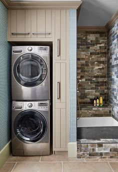 23 Small Laundry Room Ideas Small Laundry Room Storage Tips with Laundry Room Design Ideas Laundry Room Layouts, Laundry Room Remodel, Laundry Room Bathroom, Small Laundry Rooms, Laundry Room Organization, Laundry Room Design, Small Bathroom, Laundry Closet, Laundry Drying