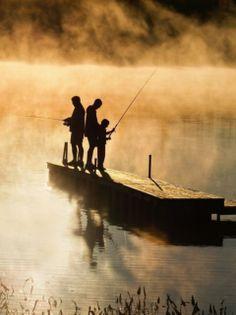fishing the morning bite..