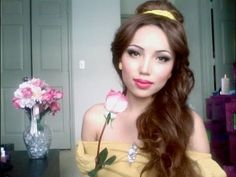 Disney's Princess Belle Make-up Tutorial!!!