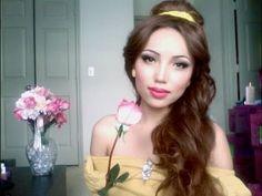 Disney's Princess Belle Make-up Tutorial!!!