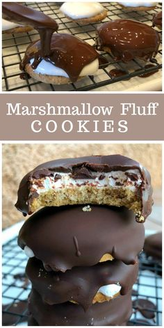 Marshmallow Fluff Cookies recipe from RecipeBoy.com #marshmallow #fluff #cookies #RecipeBoy via @recipegirl