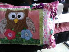 Almofadas decorativas Motivo de coruja