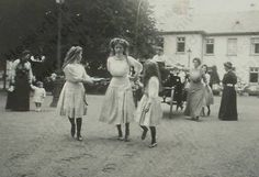 Grand Duchesses Marie, Olga and Anastasia