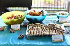 Under the Sea birthday party food ideas!!