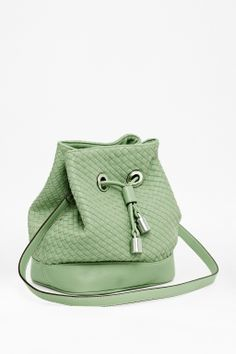 Lola Bucket Bag in Sweet Apple from French Connection lola bucket, sweet appl, bucket bag