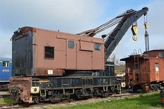 Surviving Railway Steam Cranes of North America --- Industrial Works 4725/1926 150T Wrecker NS 5903015 (steam converted to diesel) Should be operable 2015 ex Southern Ry #D5989 to D76 --- USA