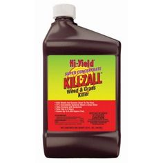 Fertilome 33692 Killzall Weed and Grass Killer, Super Concentrate in Patio, Lawn & Garden in Patio, Lawn & Garden > Gardening > Weed & Moss Control > Weed Killersby Hi-Yield Lawn And Garden, Garden Tools, Grass Weeds, Perennial Grasses, Household Pests, Weed Control, Active Ingredient, Organic Gardening, How To Apply