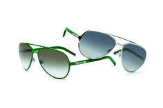 a96d6dda4ded5 D amp G green framed aviators