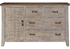 Nantucket Breeze White Dresser