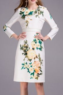 Join Dezzal, Get $100-Worth-Coupon GiftFloral Print High Waist Sheath DressFor Boutique Fashion Lovers Only: Designer Collection·New Arrival Daily· Chic for Every Occasion