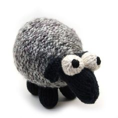 Sheepish Lamb Knit Amigurumi Plush Toy Pattern by cheezombie