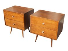 Nightstands by Paul McCobb for Wi...