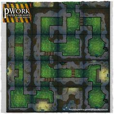 The Sewer - Modular Terrain Tiles 02 - Image 2