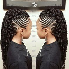 love the braids. CDS