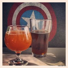 Having a #beer at @GoldenCityBrew with Captain America. @Visit Golden @Colorado @Instagram  @VisitGoldenCO