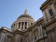 A different view of St Pauls Cathedral