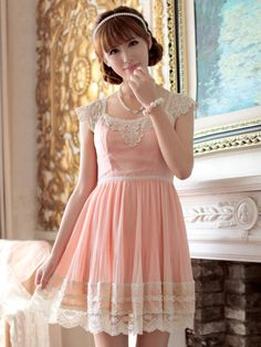 Pin to Win Giveaway! pleats and thank you dress Pretty in Pink. Pink is my favorite color.