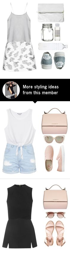 """""""Gray 'n' White"""" by elliedella on Polyvore featuring Topshop, Rut m.fl., Crate and Barrel and Shabby Chic"""