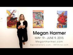 Artist Megan Harmer New York Exhibition 2015 Saatchi Art, New York, Artist, Youtube, Painting, Collection, New York City, Painting Art, Paintings