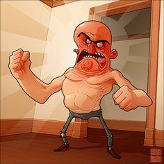 Angry Man  by ~MathieuBeaulieu