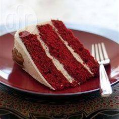 Red velvet cake @ allrecipes.co.uk for ruby anniversary