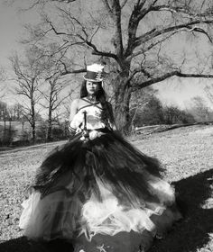 """Empress Kay"" Circa 1887 Wearing NaJo Steampunk Couture III ""Dedication to France"" Gown (2016) Thank you, Kayla Phillips, for also being such a pleasure to work with today!"